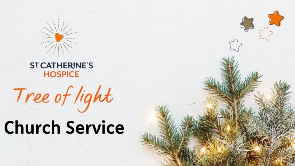 St Catherine's Hospice Tree of Light Service